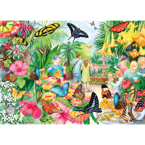 Gibsons Butterfly House 1000pc