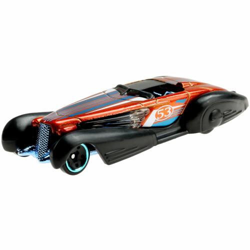 Hot Wheels Blue and Satin - Custom Cadillac Fleetwood