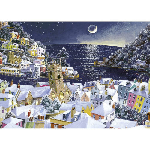 Gibsons Christmas Moon 1000pc Puzzle