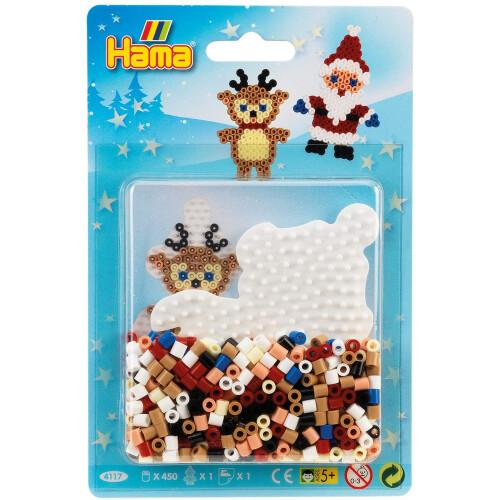 Hama Beads 4117 Christmas Santa