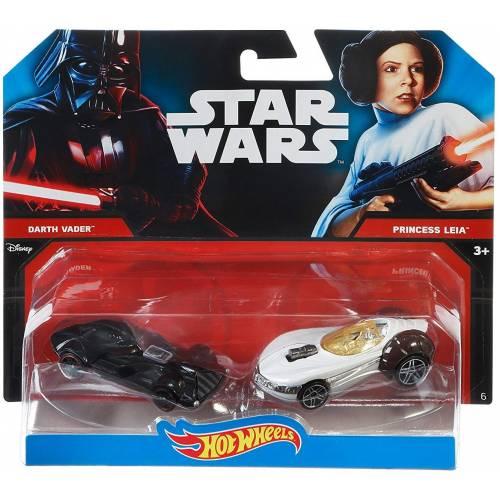 Hot Wheels Star Wars Darth Vader VS Princess Leia
