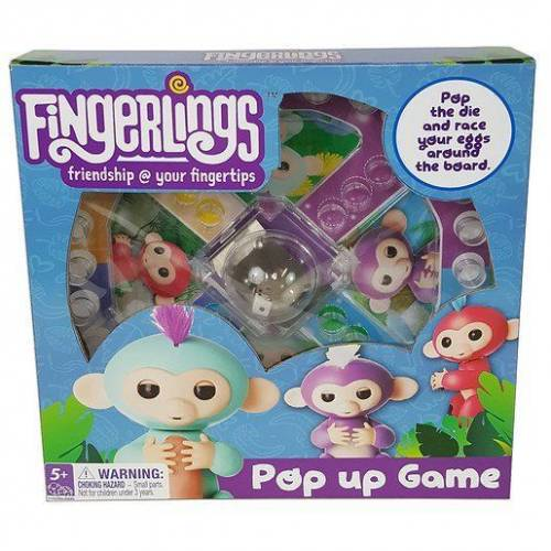 Fingerlings Pop Up Game