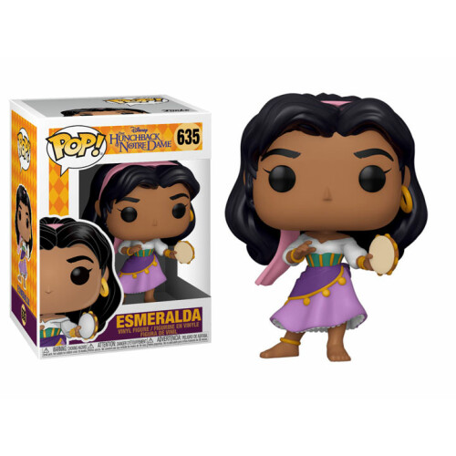 Funko Pop Vinyl - The Hunchback of Notre Dame - Esmeralda 635