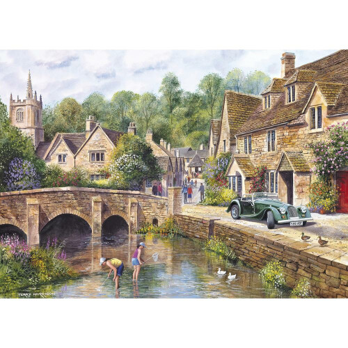 Gibsons Castle Combe 1000pc Puzzle