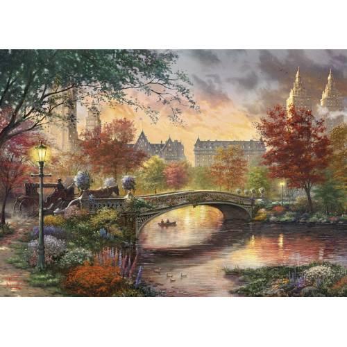 Gibsons Thomas Kinkade Autumn In New York 1000pc