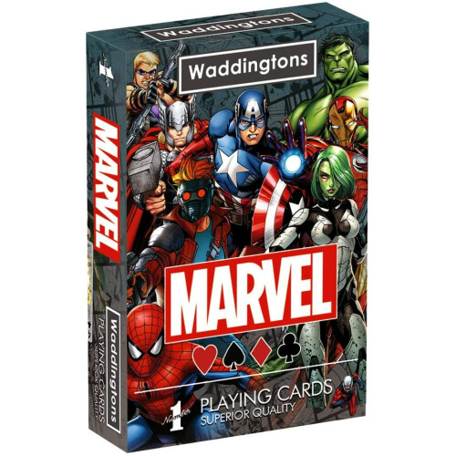 Waddingtons Playing Cards - Marvel