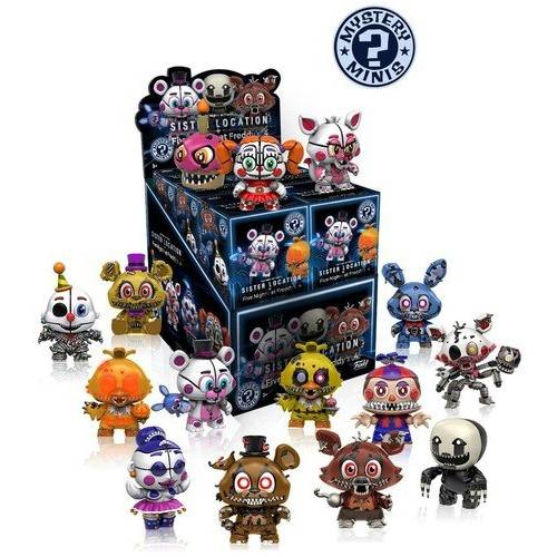 Funko Mystery Minis Blind Box Sister Location & Five Nights at Freddy's 4