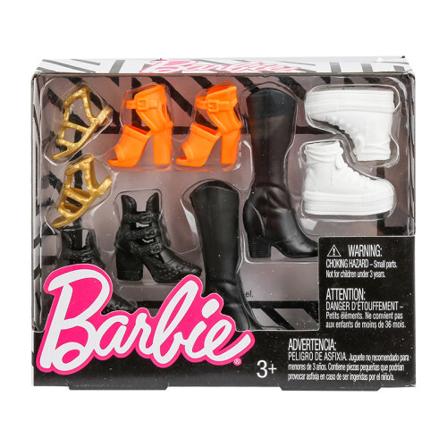 Barbie Fashionistas Shoes (FCR92)