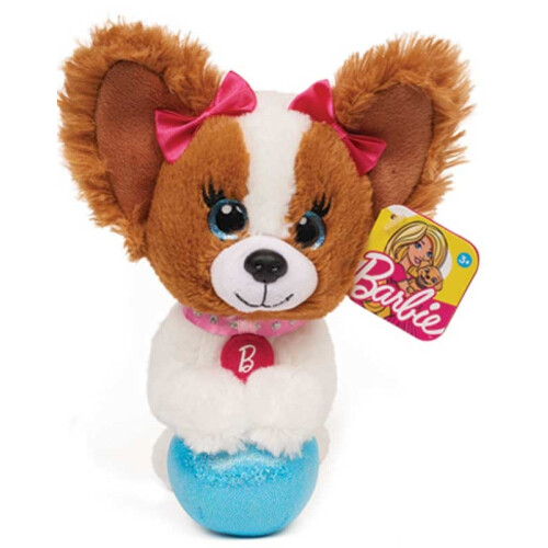 Barbie Pets Bean Plush - Dog with Ball