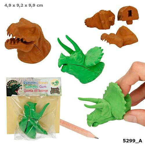Dino World Puzzle Eraser