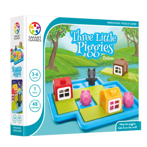 Preschool Puzzle Game - Three Little Piggies Deluxe