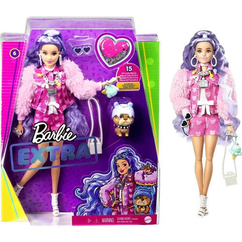 Barbie Extra Doll & Pet 6