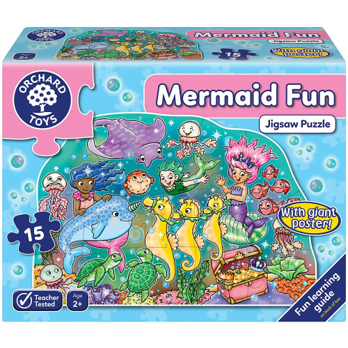 Orchard Mermaid Fun Jigsaw Puzzle