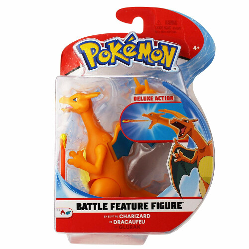 Pokemon Battle Feature Figure - Charizard