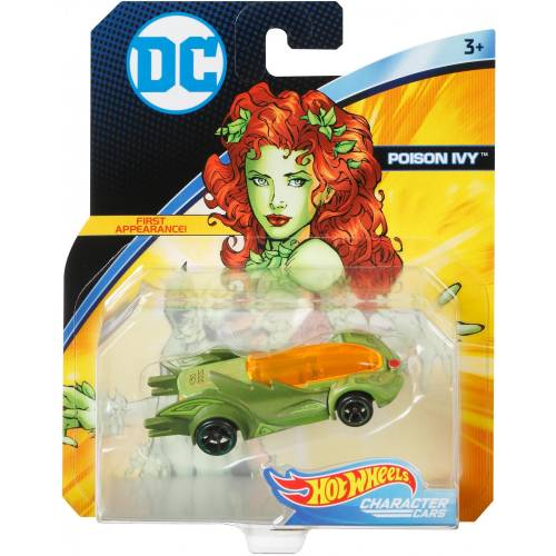 Hot Wheels DC Character Cars - Poison Ivy