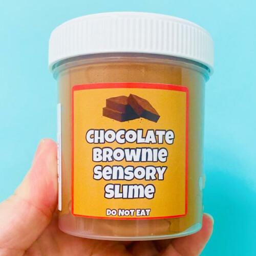 Sensory Slime - Chocolate Brownie