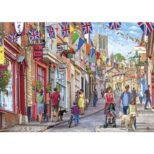 Gibsons Steep Hill 1000pc