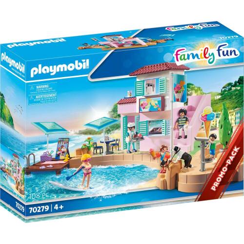Playmobil  70279 Family Fun Waterfront Ice Cream Shop