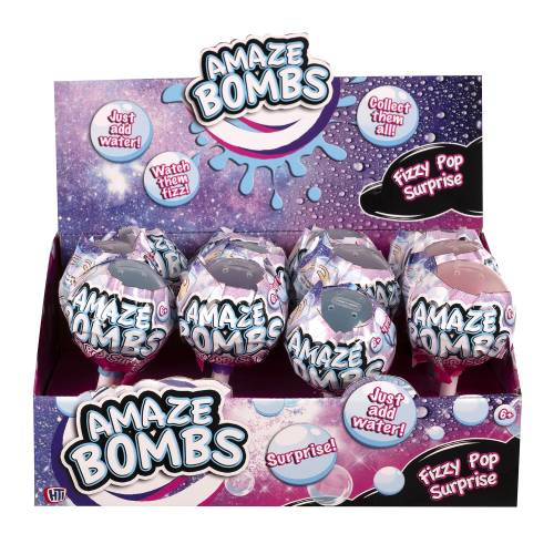 Amaze Bombs Fizzy Pop Surprise (One Supplied)