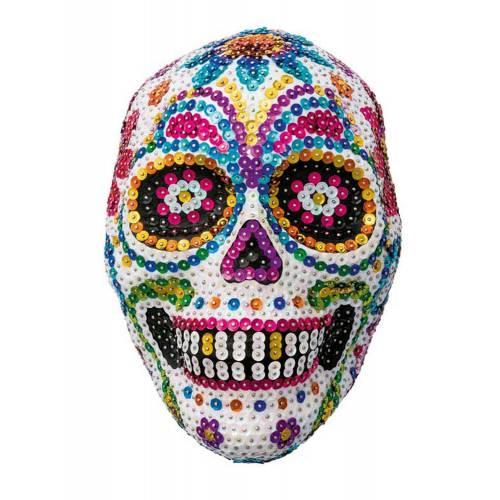 Sequin Art 3D 1708 Sugar Skull Art Kit