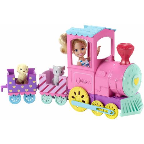 Barbie Club Chelsea Train with Doll