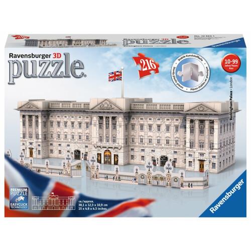 Ravensburger 216pc 3D Jigsaw Puzzle Buckingham Palace