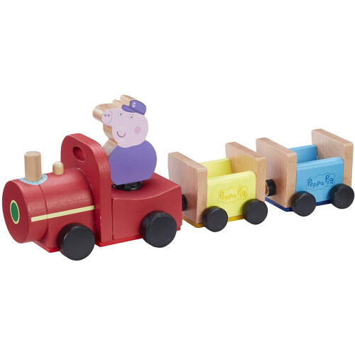 Peppa Pig Wooden Grandpa Pig's Train
