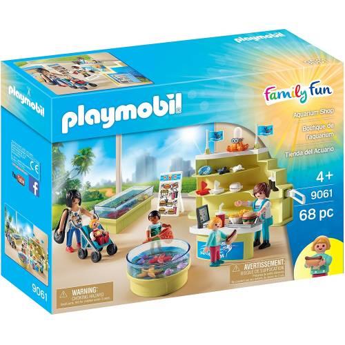Playmobil Family Fun 9061 Aquarium Shop