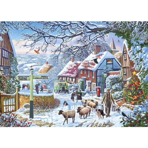Gibsons A Winter Stroll 1000pc Puzzle