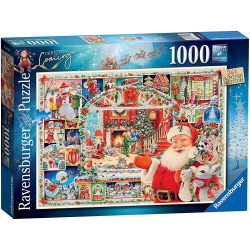 Ravensburger 1000pc Puzzle Christmas Is Coming