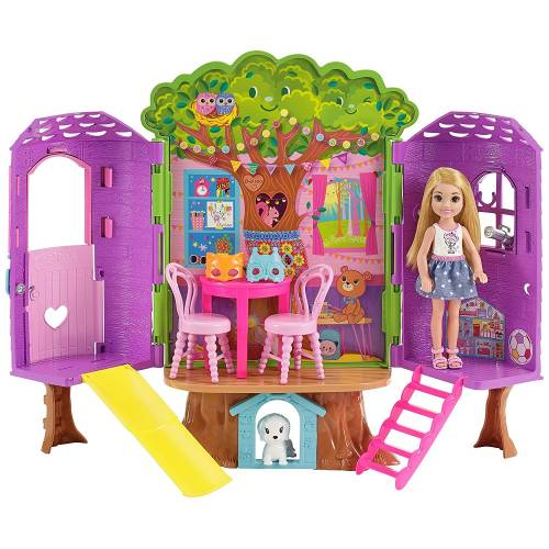 Barbie Club Chelsea Treehouse Playset