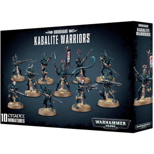 Warhammer 40,000 - Dark Eldar Kabalite Warriors