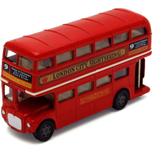 Motor Max London Double Decker Bus