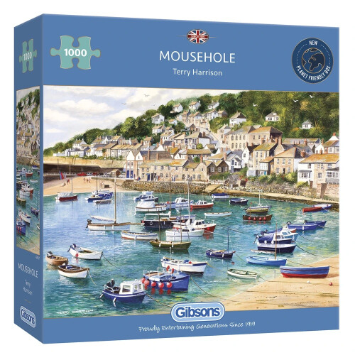 Gibsons Mousehole 1000pc Puzzle