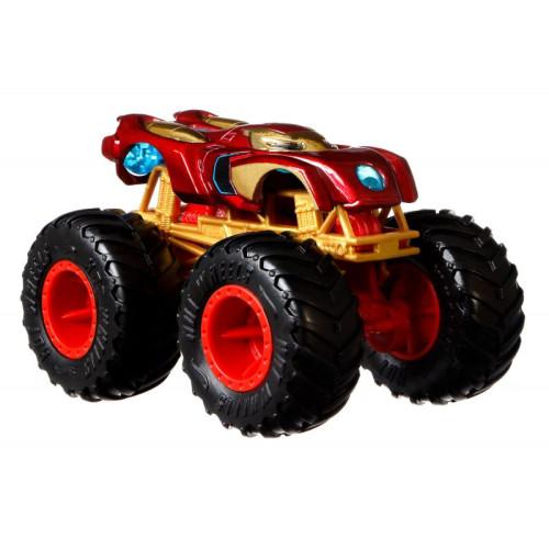 Hot Wheels Monster Trucks - Marvel Iron Man