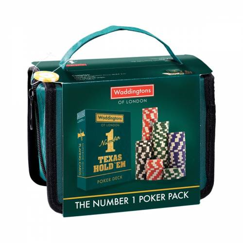 Waddingtons Poker Travel Pack