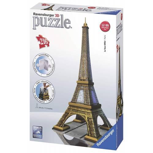 Ravensburger 216pc 3D Jigsaw Puzzle La Tour Eiffel