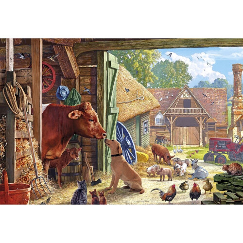 Gibsons Best Friends 500pc Puzzle