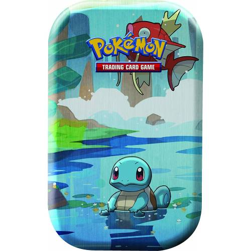 Pokemon TCG Kanto Friends Mini Tin - Squirtle