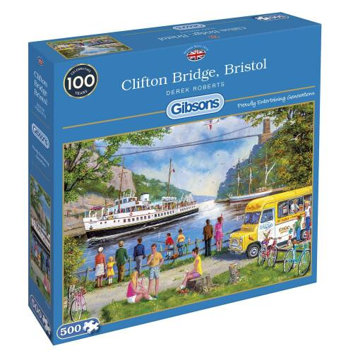 Gibsons Clifton Bridge Bristol 500pc Puzzle