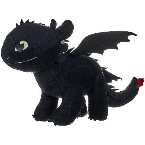 Dragons - Glow in the Dark Toothless Plush