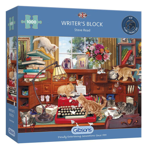 Gibsons Writer's Block 1000pc Puzzle