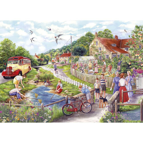 Gibsons Summer by the Stream 1000pc Puzzle