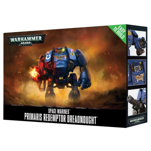 Warhammer 40,000 - Space Marine Primaris Redemptor Dreadnought