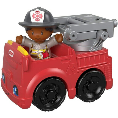 Fisher Price Little People Vehicle and Figure - Fire Engine