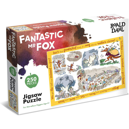 Roald Dahl - Fantastic Mr Fox 250pc Puzzle
