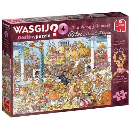 Wasgij? Destiny 4 Retro 1000pc Jigsaw Puzzle The Wasgij Games!