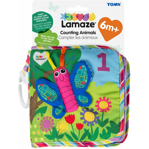 Tomy Lamaze Counting Animals Book
