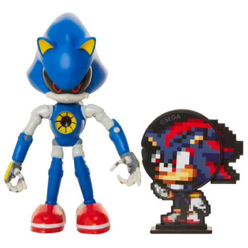 Sonic The Hedgehog Bendable Figure - Metal Sonic