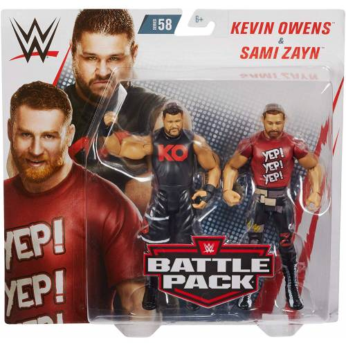 WWE Battle Pack - Series #58 - Kevin Owens VS Sami Zayn